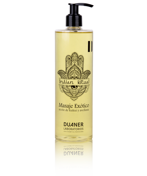 Massaje Exótico - aceite de kukui  avellana