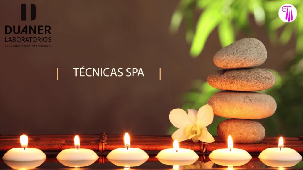 curso de masaje tecnicas spa
